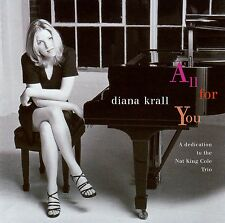DIANA KRALL : ALL FOR YOU / CD - TOP-ZUSTAND