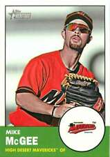 2012 Topps Heritage Minor League #84 Mike McGee NM-MT
