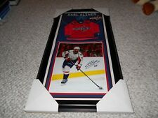 Washington Capitals Karl Alzner AMEX Montreal Canadiens Autograph Authentic