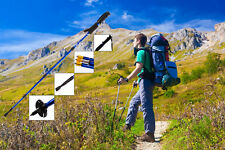 Senderismo antichoque Walking Trail Trekking polos del palillo de los bastones