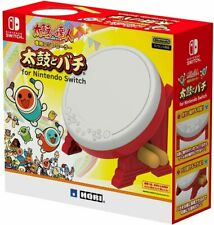 NEW Nintendo Switch HORI TAIKO NO TATSUJIN Drum & BACHI set For Switch DHL