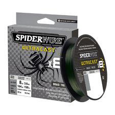 Spiderwire Ultracast Braid, Superline, 100lb test, 220yd,Invisibraid-Translucent