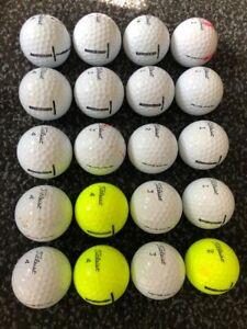 20 Used Titleist Tour Soft Golf Balls - Mixed Grade