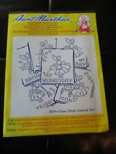 Aunt Martha's Hot Iron Transfer Embroidery 3275 Nursery Rhymes