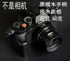 Handmade Blackwood Wooden Hand Grip L Vertical Plate f Fujifilm Fuji X-T3 Camera