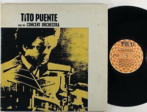 """Tito Puente & His Concert Orchestra """"S/T"""" LP Tico Latin Funk Salsa"""