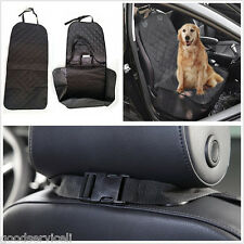 Heavy Duty Portable Black Autos Off-Road Front Seat Pet Dog Protector Cover Mat