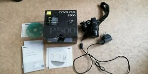 Nikon Coolpix P500 - not working correctly - SPARES/REPAIR - see description.