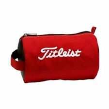 Titleist Golf Ball Pouch Bag Carry Case Pch9 Red Japan W / tracking New