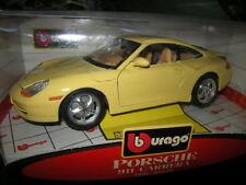 1:18 Bburago Porsche 996 gelb/yellow OVP