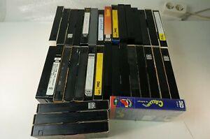 30 bespielte VHS Kassetten Videokassetten diverse Längen ungeprüft Pro-1125