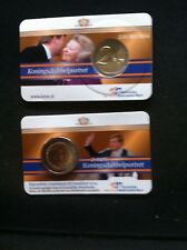 Nederland 2 euro 2014  Koningsdubbelportret in coincard BU