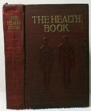 1927 THE HEALTH BOOK Copeland Medicine Medical Reference Remedies Accidents