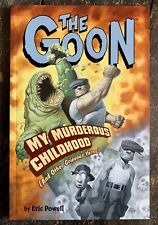 The Goon My Murderous Childhood Anthology Graphic Novel First Edition (LOU)