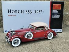 CMC 1937 Horch 853 Sports Cabriolet 1:24 Scale Diecast Model Car M-015