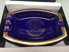 Franck Muller Ashtray, Blue & Gold. Boxed