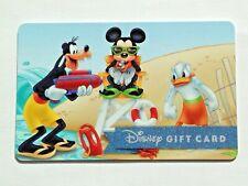 New ListingWalt Disney Donald Duck Goofy Mickey Beach Gift Card