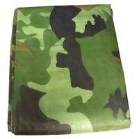 Open Box 12x16 Camouflage Tarp Water Resistant Canopy Car Boat Ground Cover