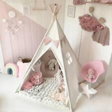 Tipi Spielzelt für Kinder Baumwolle-Segeltuch Kinderzelt Zelte Spielzeug Drau�Ÿe