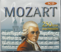 COFFRET 5 CD MOZART 250 Iéme ANNIVERSAIRE   CO114