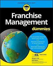 Franchise Management For Dummies (For Dummies (Lifestyle))  April 24, 2017