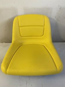 John Deere AUC11476 High Back Yellow Seat 135 145 L 100 120 130 LA 110 120 G110