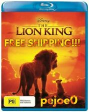 The Lion King Blu Ray Live Action Disney Reg B FREE POST!(2019) New!
