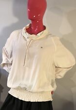 Fila Benessere Pullover Woven Light Jacket Off-White Size: XL NWT