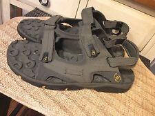 Columbia  Interchange Mens US 13 M Gray Omni Grip Strappy Sport Sandals EUC