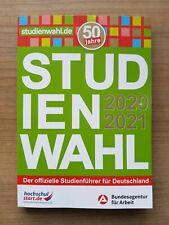 Studienwahl 2020/2021 | Buch | Neu, ungenutzt