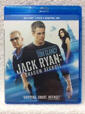 Jack Ryan: Shadow Recruit (Blu-ray/DVD, 2014, 2-Disc Set)