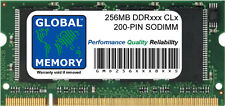 256MB DDR 266MHz PC2100 / 333MHz PC2700 200-PIN SODIMM RAM FOR APPLE LAPTOPS/PCs