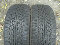 2x 225 45 17 94H Ovation Winter Master Snow Tyres Full Tread 2254517