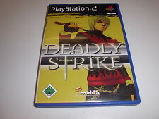 PlayStation 2   PS2  Deadly Strike