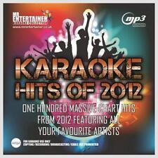 Mr Entertainer Karaoke 100 MP3+G Tracks - Chart Hits of 2012 MKH12 MP3G