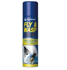 Fast Action 300ml Pestshield Fly Wasp Killer Spray Flying Insect Indoor Outdoor