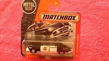 Matchbox (UK Card) - 2017 - #57 '51 Hudson Hornet Sheriff Car - Black & White