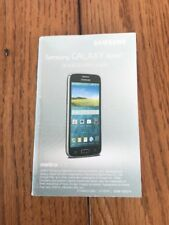Samsung GALAXY Avant Quick Start Guide Instructions Only Ships N 24h