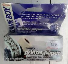 Game Boy Printer Paper per Game Boy printer. 3 rotoli