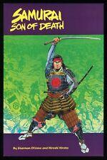 Samauri Son of Death Trade Paperback TPB Ninja Martial Arts Hiroshi Hirata art