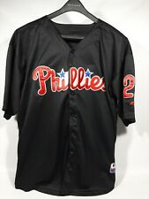MLB Philadelphia Phillies Chase Utley Majestic Authentic Collection Size 58