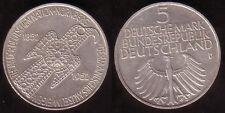 """1952 - 5 DM Gedenkmünze """"Germanisches Museum"""", ss/vz"""
