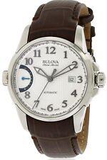 Bulova Accutron Men's 63B171 Accu Swiss Calibrator Leather Band Watch