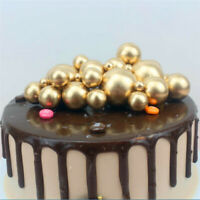 ROUND Ball Cake Topper Birthday Wedding Party Decor Cake Supplies 6 Color NEW