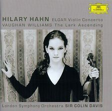 HILARY HAHN - ELGAR VIOLIN CONCERTO, VAUGHAN WILLIAMS THE LARK ASCENDING / CD