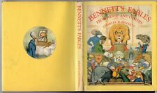 Vintage 1978 BENNETT'S FABLES FROM AESOP AND OTHERS Charles Bennett ILLUSTRATED