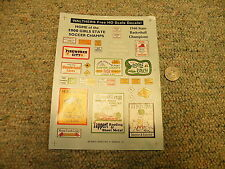 Walthers decals HO Fireworks City Reptile Ranch Fire danger signs etc  K75