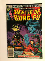 Marvel Comics The Hands Of Shang Chi Master Of Kung Fu #114