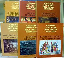 Cultura popolare nell'Emilia Romagna, Ed. Silvana Editoriale, 1977-1982