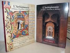 ARCHITETTURA BOLOGNA - L'Archiginnasio Palazzo Università Biblioteca 2 volumi